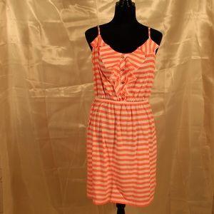 Lily Pulitzer Orange striped dress